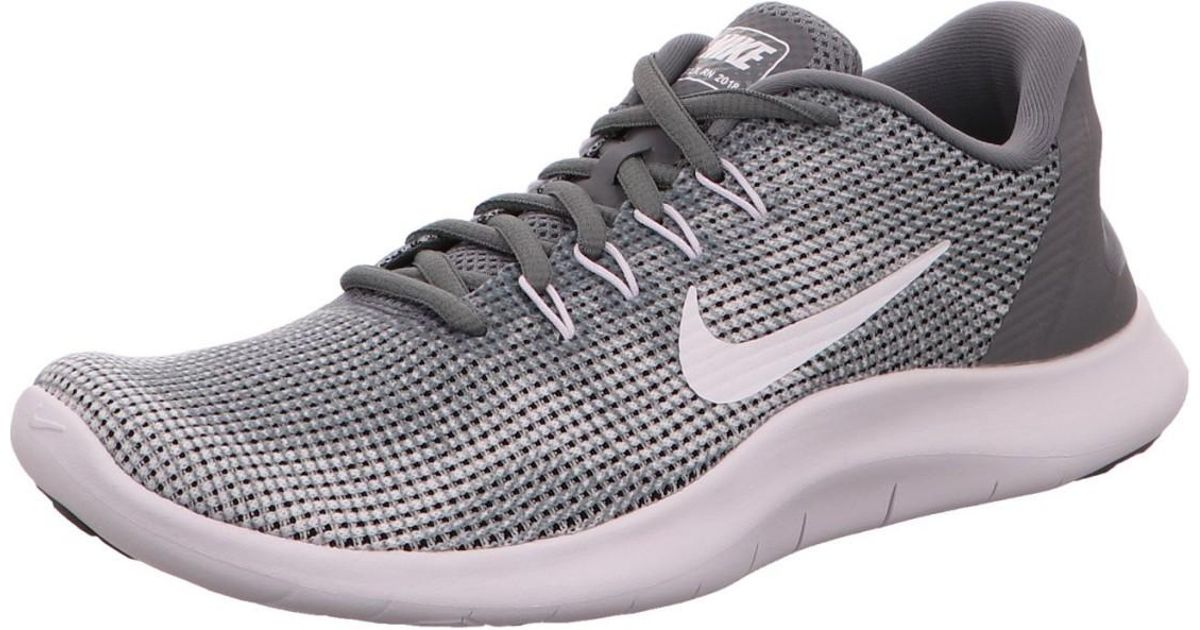 official photos a7313 27a38 Nike Wo Trainers Grey D-run-schuh Flex 18 in Gray - Lyst