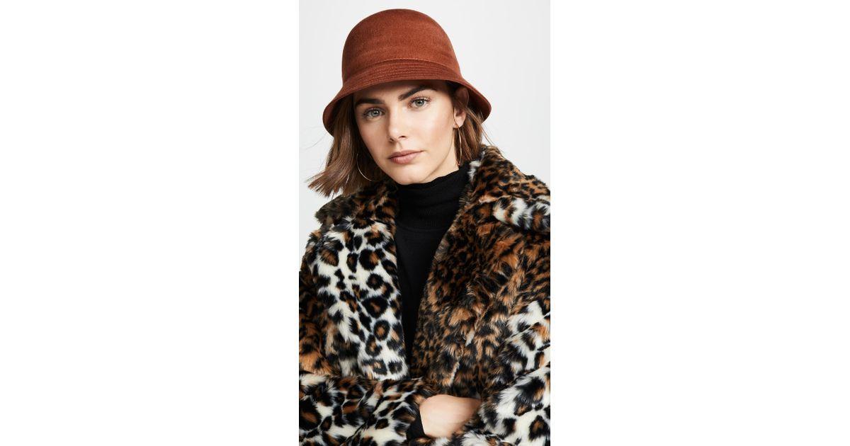 Brixton Essex Bucket Hat in Brown - Save 18% - Lyst f27fbdf6e46