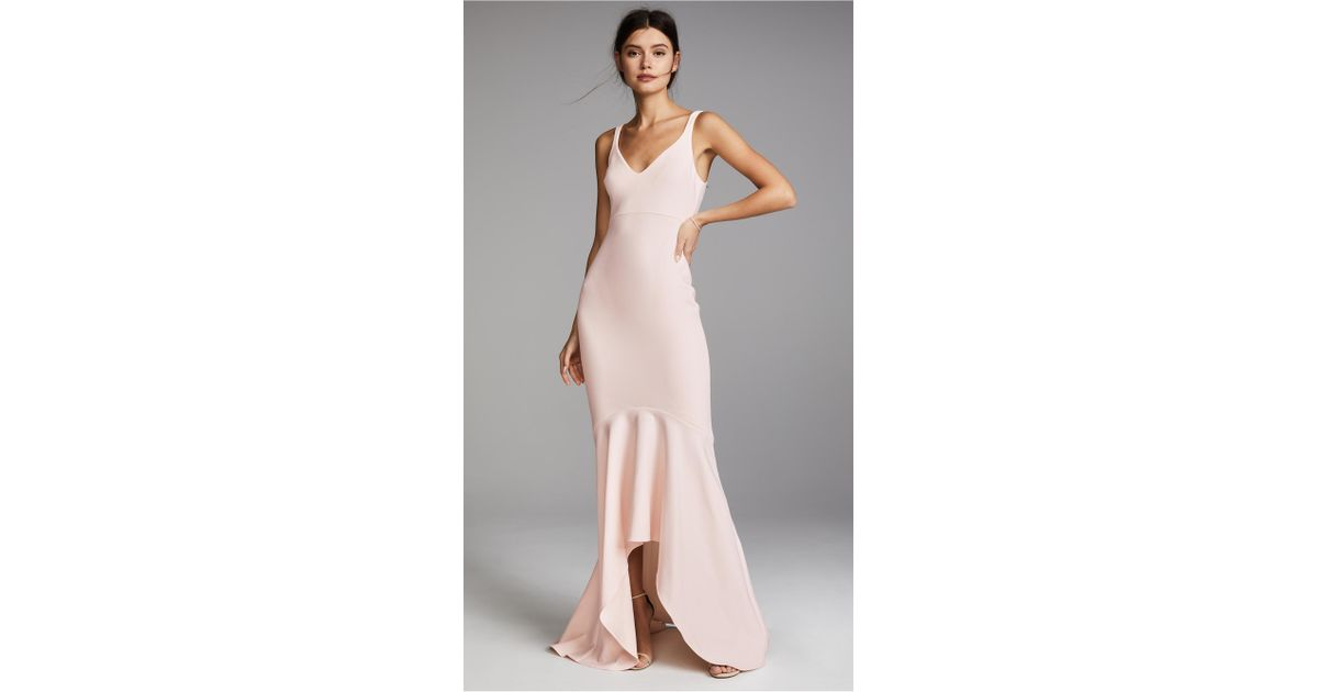 Cinq à Sept Sade Gown In Pink Lyst