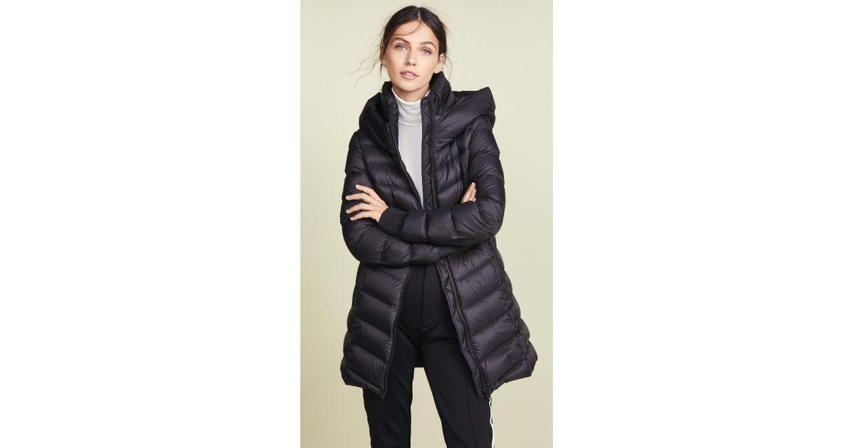 Lyst Soia Kyo Alanis Down Coat In Black