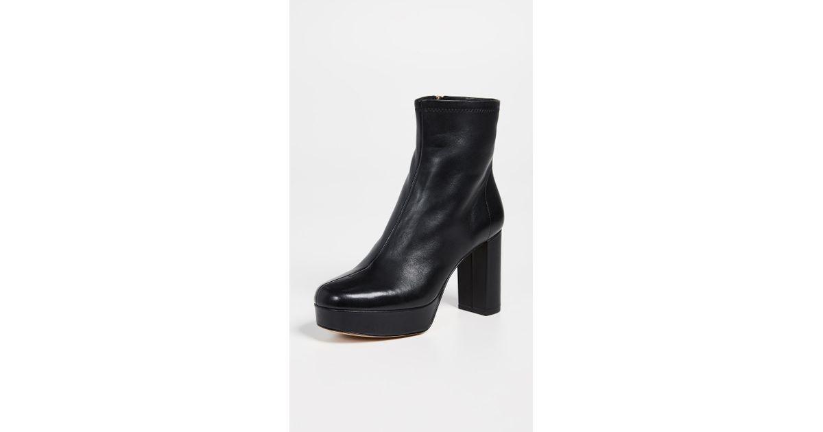 79626b0c1f0d Lyst - Diane von Furstenberg Yasmine Platform Boots in Black