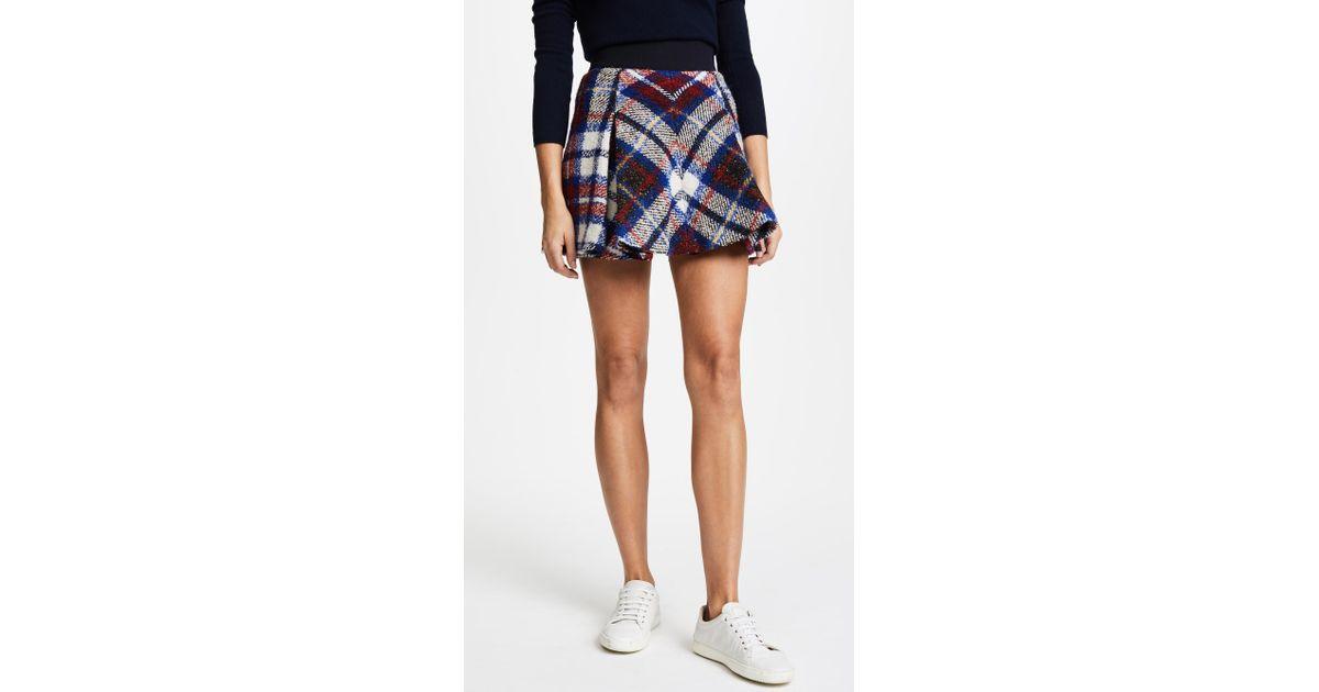 Yellow Wool Tartan Kilt Skirt Ashley Williams Shop For Sale Online l446LCoGx