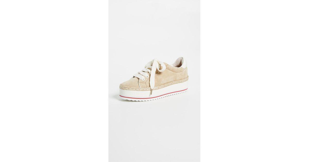 f7d4dc7e8bbf Lyst - Joie Dabnis Platform Sneakers