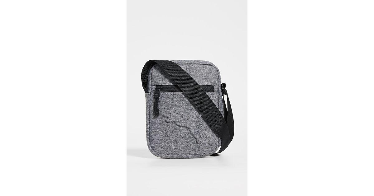 b6c10cfafca PUMA Reformation Crossbody Bag in Gray - Lyst