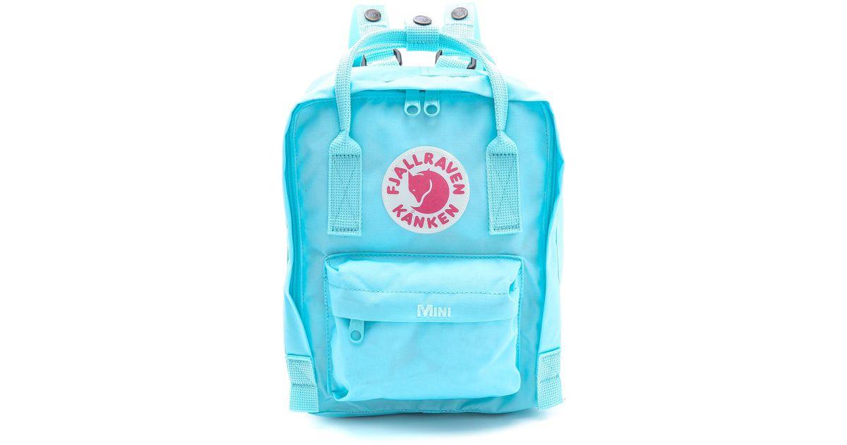 1c56c38a2 Fjallraven Kanken Mini Backpack in Blue - Lyst