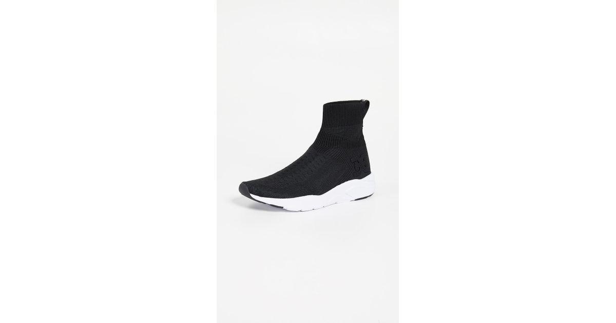 533793aee43ef3 Lyst - Sam Edelman Tara Sneaker in Black