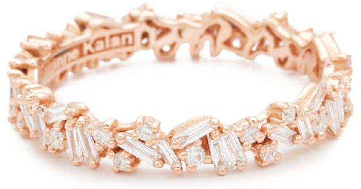 Tiffany Rose Gold Eternity Ring