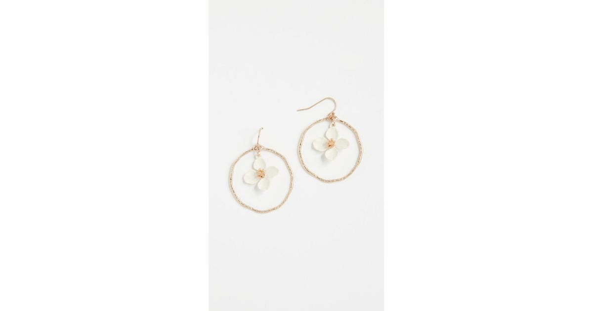 Shashi Irene Hoop Earrings t20PSq
