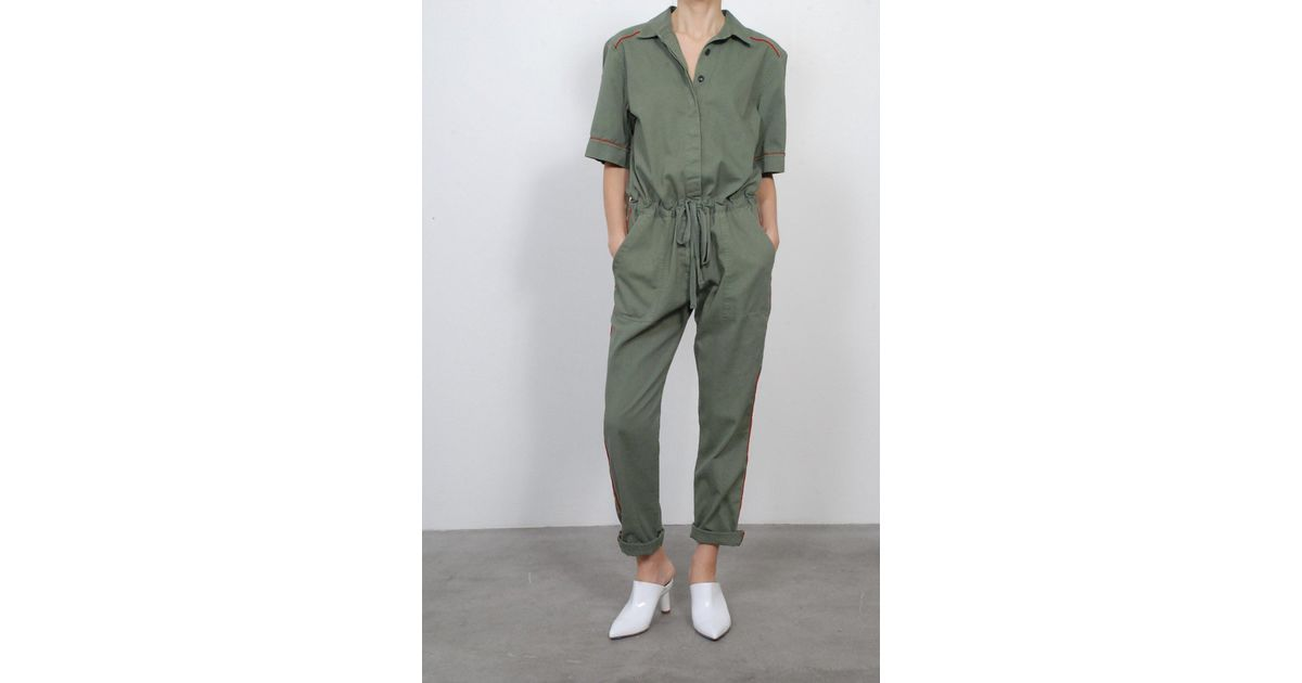 d1599fcb16e Lyst - Xirena Keatyn Jumpsuit in Green