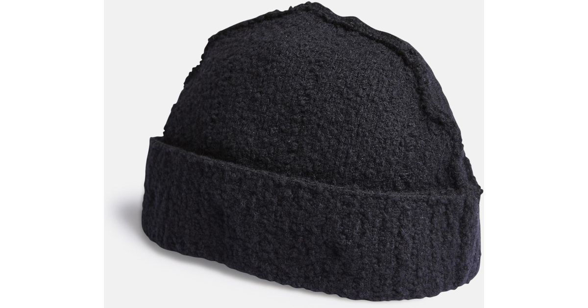 Lyst - Craig Green Boucle Knit Beanie in Blue for Men 0a284708871e