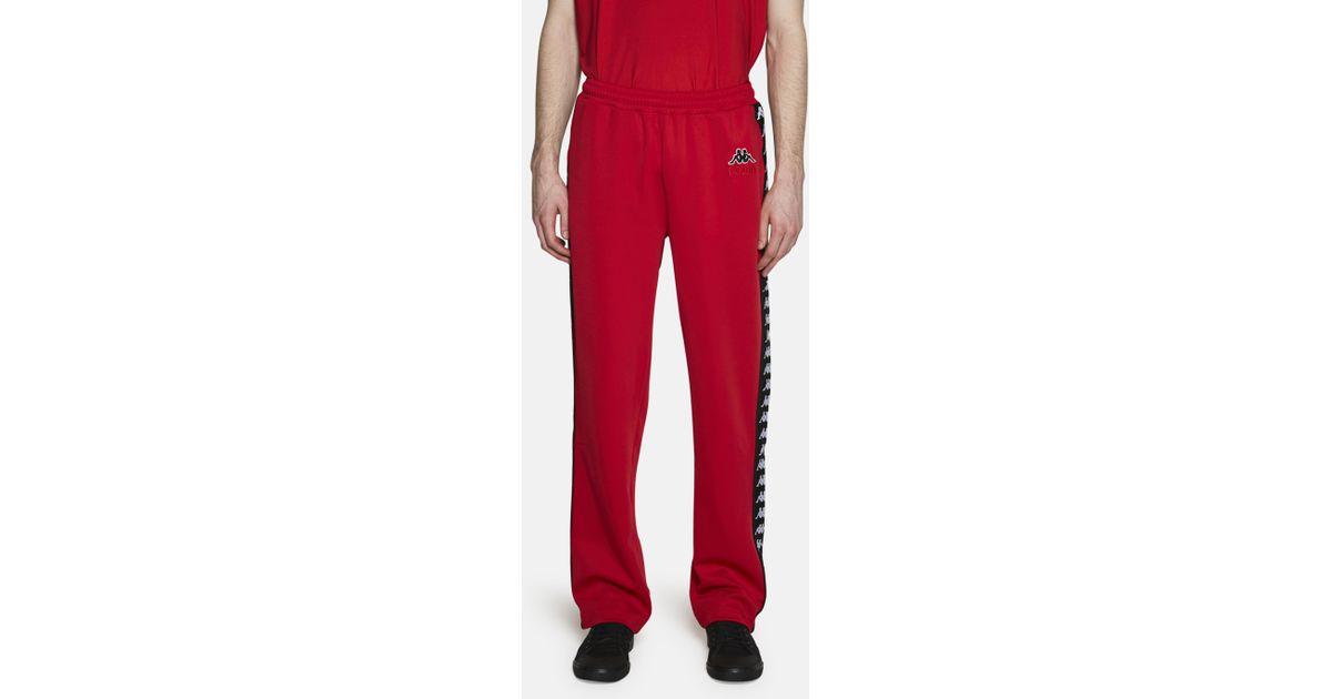 Lyst - Gosha Rubchinskiy Kappa Track Pant in Red for Men 51c6b2df93272
