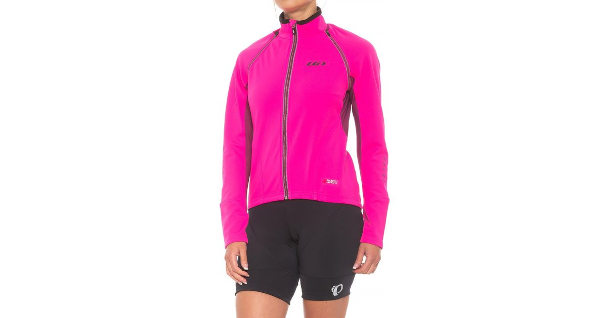 Lyst - Louis Garneau Spire Polartec® Power Shield® Convertible Cycling  Jacket (for Women) in Pink ab357aee8