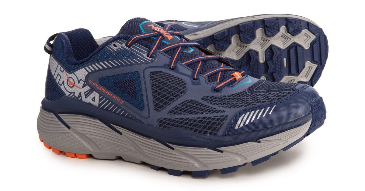 huge selection of 11c9e 2044e hoka-one-one-Medieval-BlueRed-Orange-Challenger-Atr-3-Trail-Running -Shoes-for-Men.jpeg