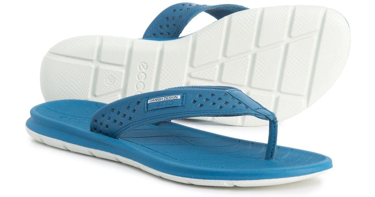 ecco flip flops