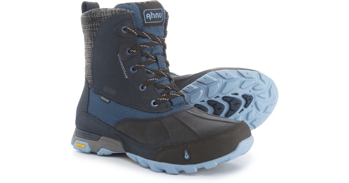 30ff6c54f1c Ahnu - Blue Sugar Peak Snow Boots - Lyst