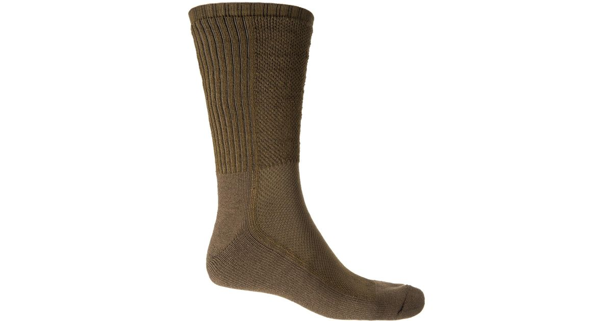 f6594f6a6edb Wigwam Ultimax® Hot Weather Bdu Pro Socks in Brown for Men - Lyst