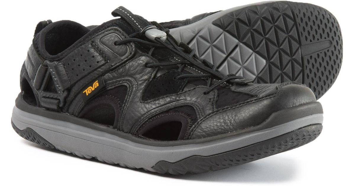 38b0c640d8c3 Lyst - Teva Terra-float Travel Water Shoes in Black for Men
