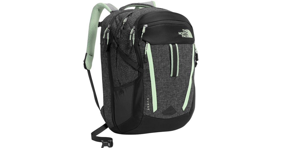 3333c0dc4 The North Face - Gray Surge 31l Backpack (for Women) - Lyst
