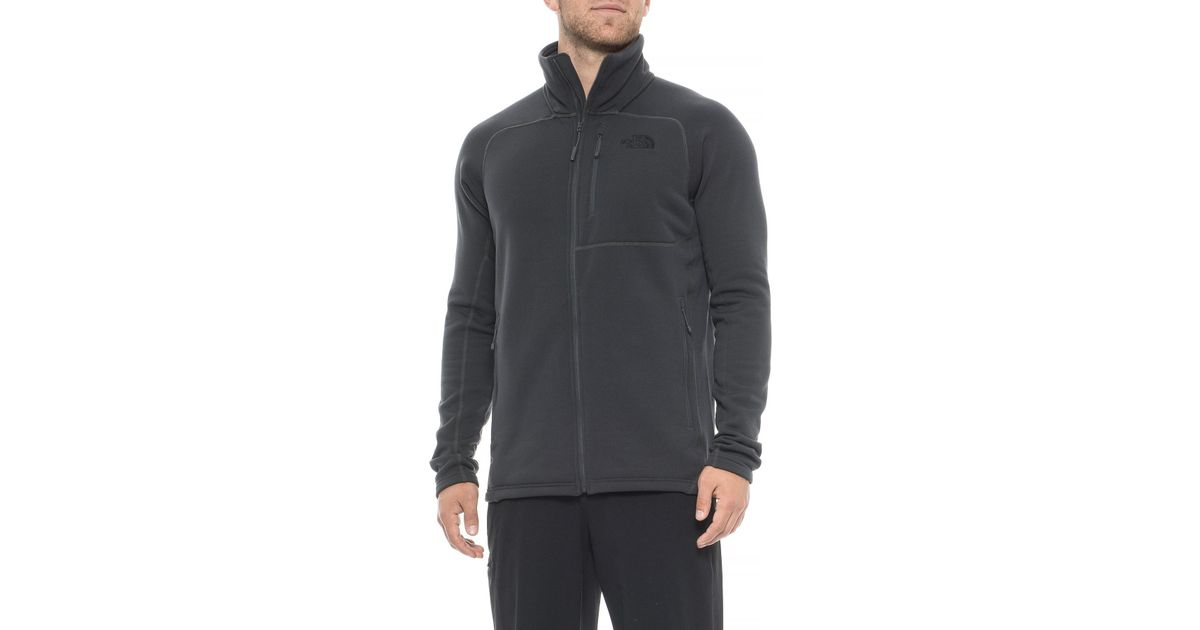 b0206892c The North Face Gray Flux 2 Polartec® Power Stretch® Pro Fleece Jacket for  men