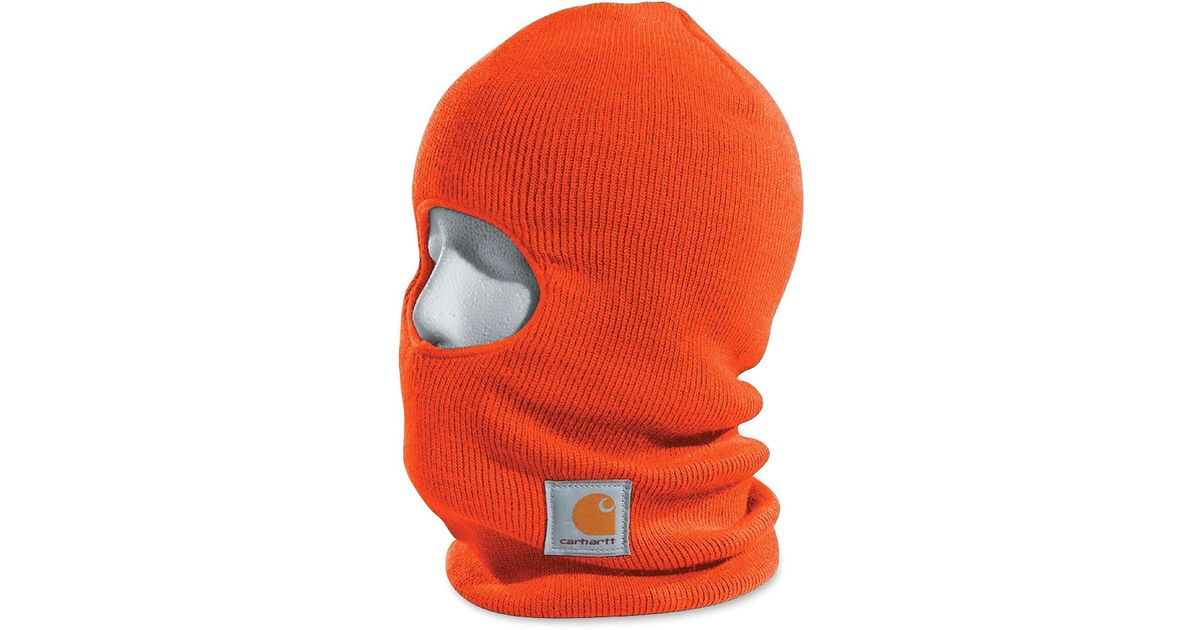 6cb7dad8cf9e9 Lyst - Carhartt Insulated Face Mask (for Men) in Orange for Men