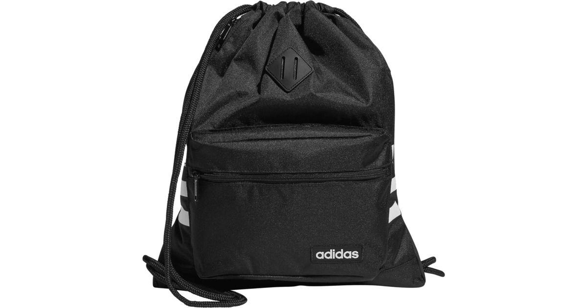 0ddf514c786c Lyst - Adidas Classic 3s Sackpack in Black