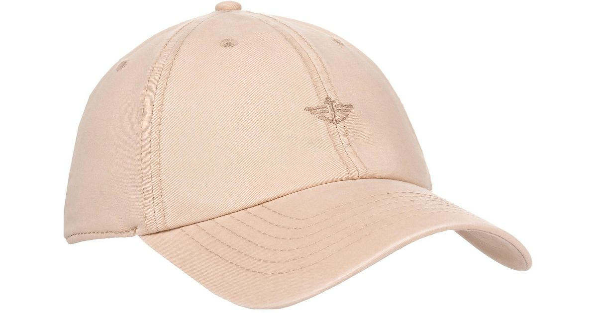 Lyst - Dockers Washed Twill Baseball Cap (for Men) in Natural for Men d776ed2236c