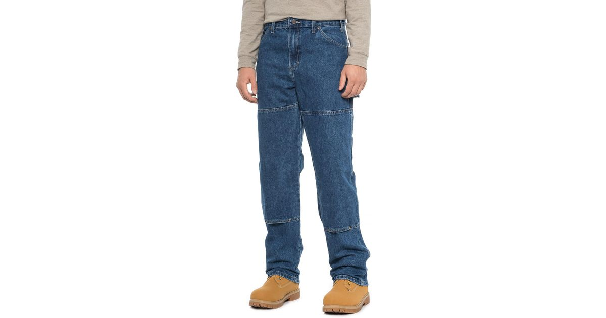 11f9cc1f460 Dickies - Blue Double-knee Carpenter Utility Jeans for Men - Lyst