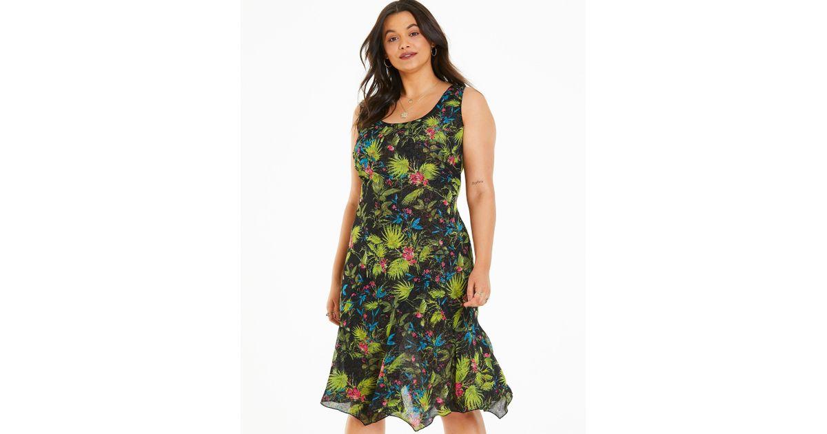 c0fd21846f2 Lyst - Simply Be Joe Browns Ravishingley Reversible Dress in Green