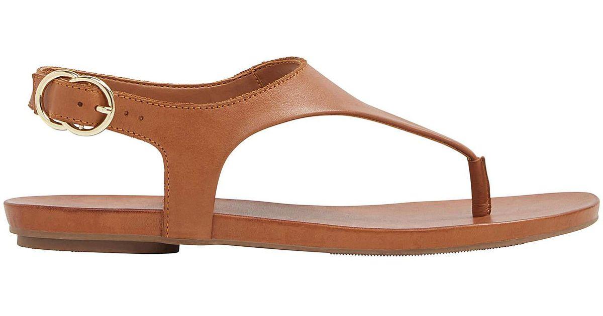 abca017925f ALDO Jerilassi Sandal in Brown - Lyst