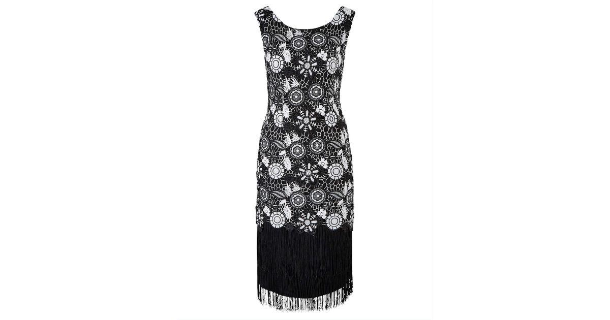 023cb9d77efb Fiorelli Joanna Hope Petite Lace Dress in Black - Lyst