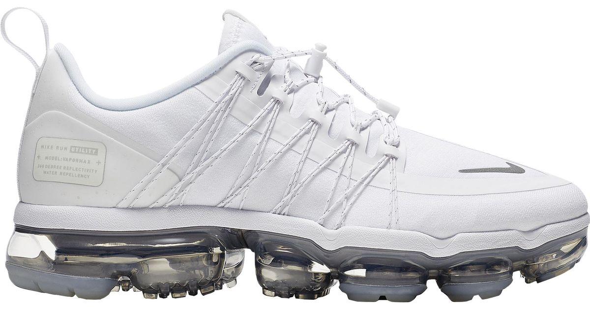 2c3a6d6b0e Nike Air Vapormax Run Utility in White - Lyst