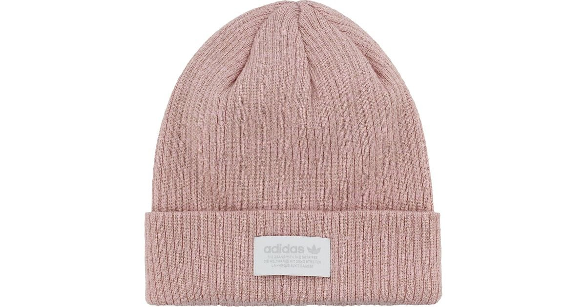 f7a1e839f88 Lyst - adidas Originals Sparkle Beanie in Pink