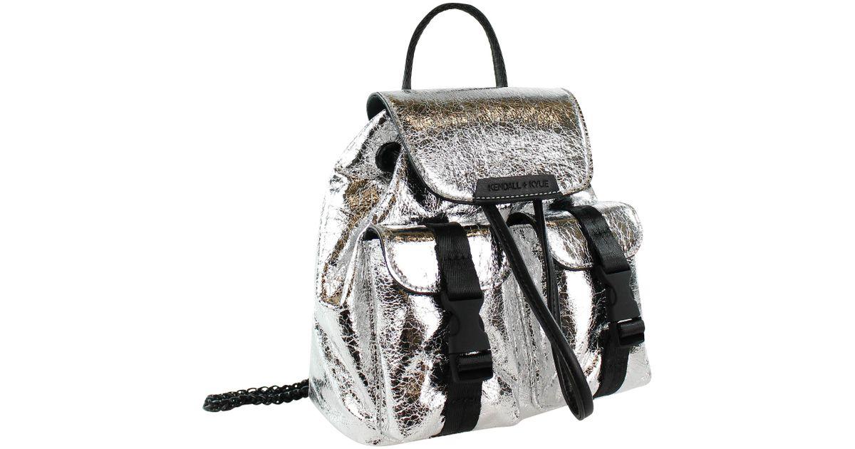 Lyst - Kendall + Kylie Poppy Mini Backpack 588f7c8741