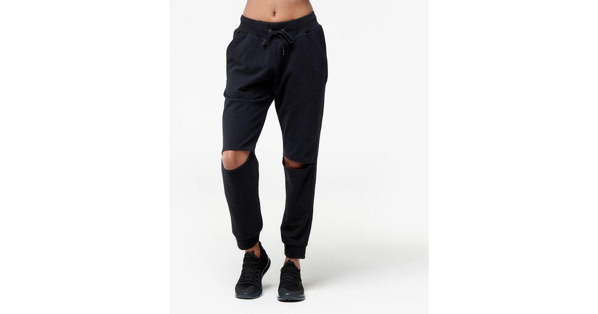 Sam Edelman Women/'s Knee Slit Jogger