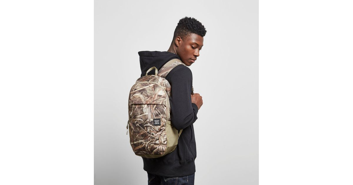 bbf5a165b2a Lyst - Herschel Supply Co. Mammoth Desert Camo Backpack in Green for Men