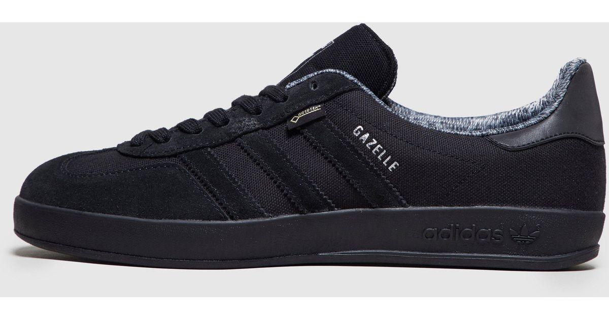 adidas originals gazelle indoor all black
