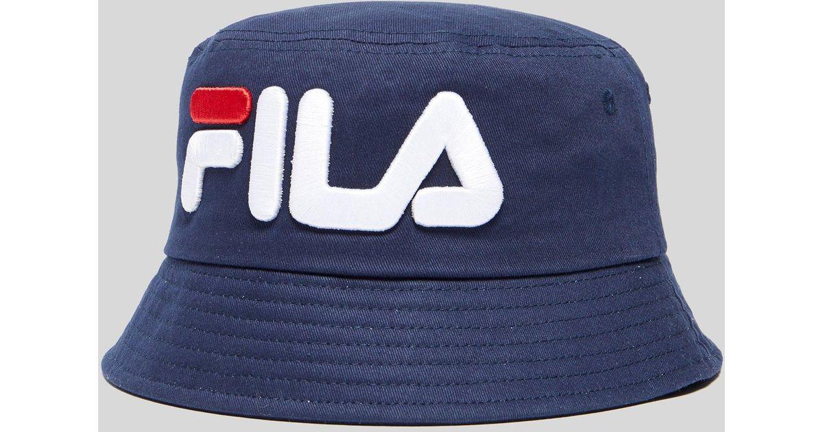 Fila Beefie Bucket Hat in Blue for Men - Lyst 9c6eeb114f3