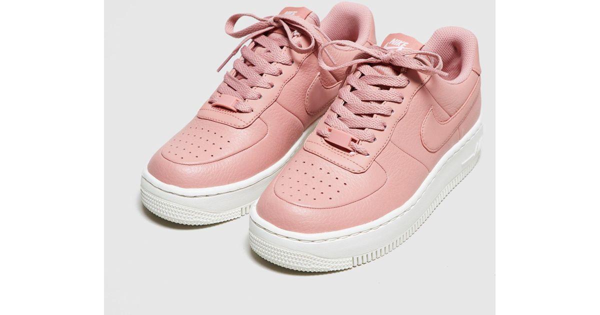 huge discount 16f9d da5d6 Lyst - Nike Air Force 1 Upstep Women s in Pink