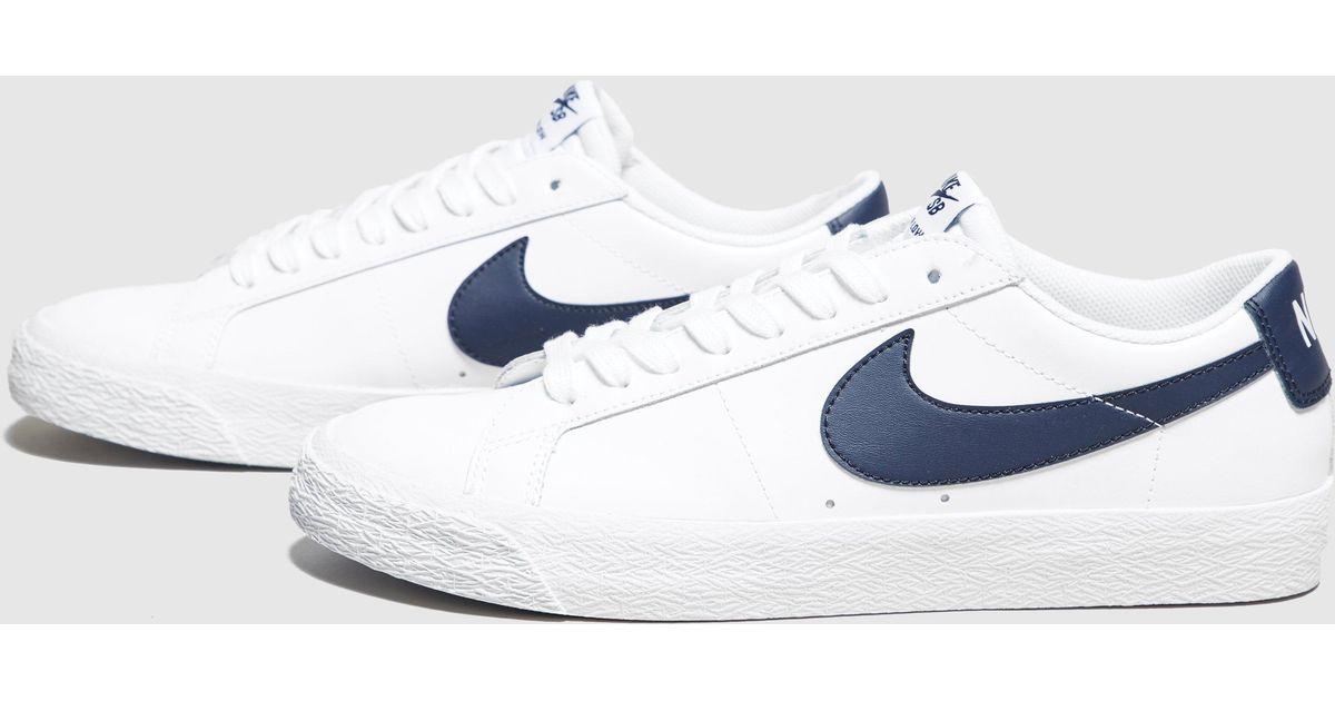 quality design fdbc4 66ae5 Lyst - Nike Blazer Low in White