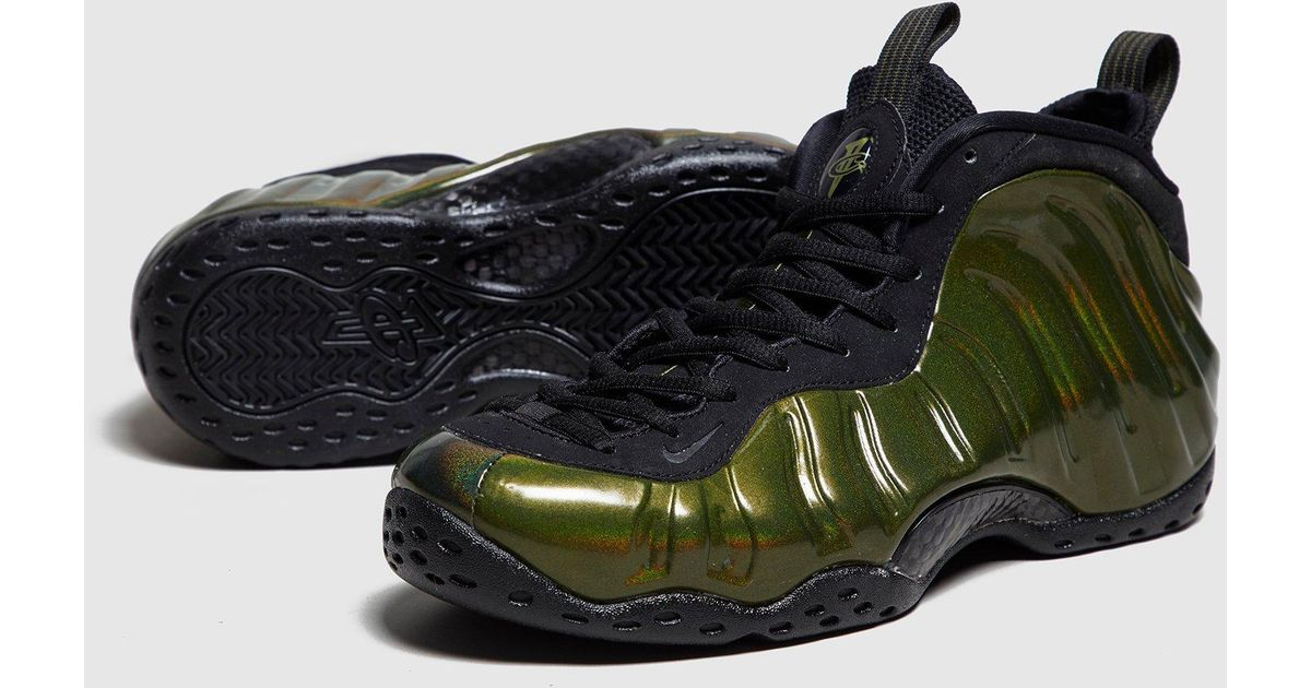 c99a621c1e444 ... clearance lyst nike foamposite one invisibility cloak in green for men  7d436 593c5