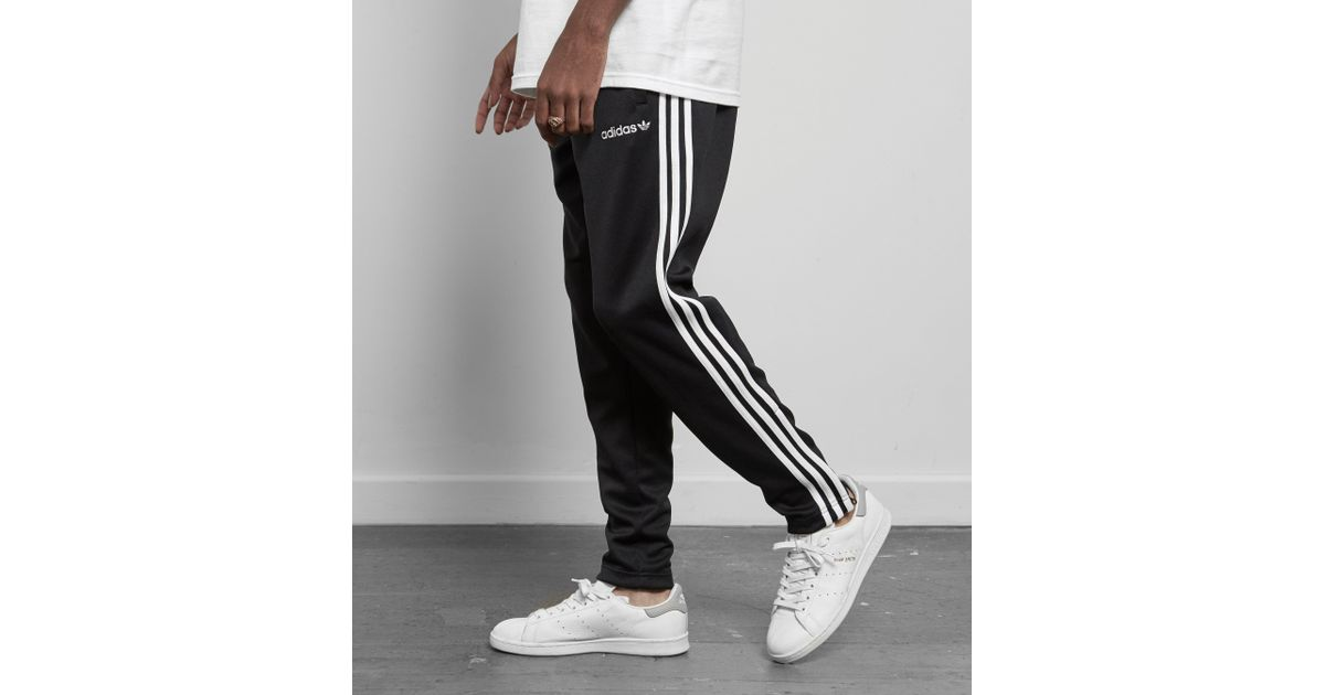 40e371b19340 Lyst - adidas Originals Superstar Taper Track Pant - Size  Exclusive in  Black for Men