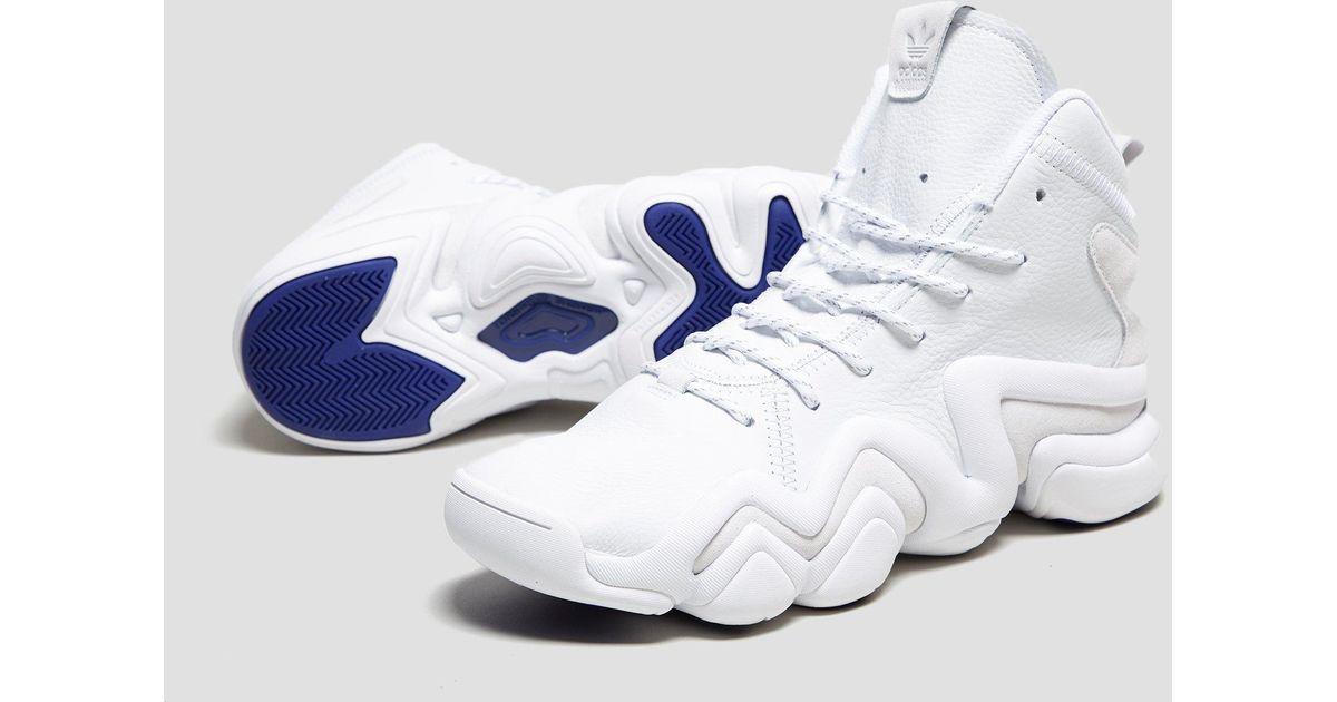 hot sales 1ca1b 86e4c Lyst - adidas Originals Crazy 8 Adv in White for Men