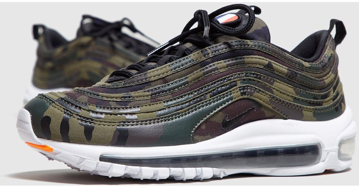 buy popular 45a2d 3f6d9 Nike Air Max 97 Camo France Women s for Men - Lyst