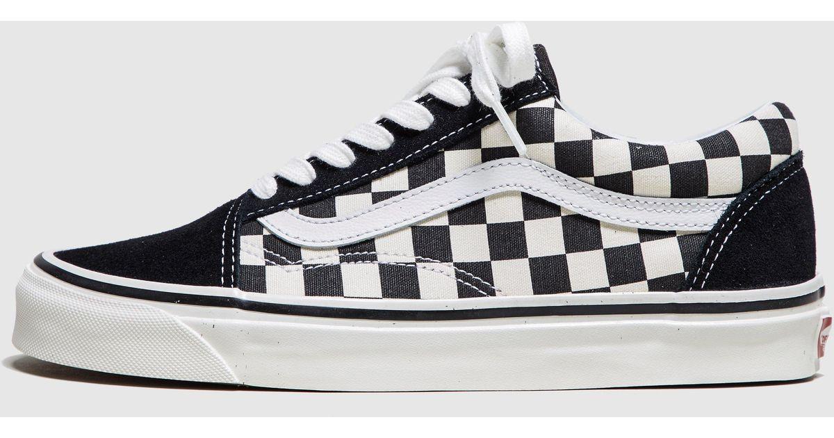 vans old skool checkerboard damen