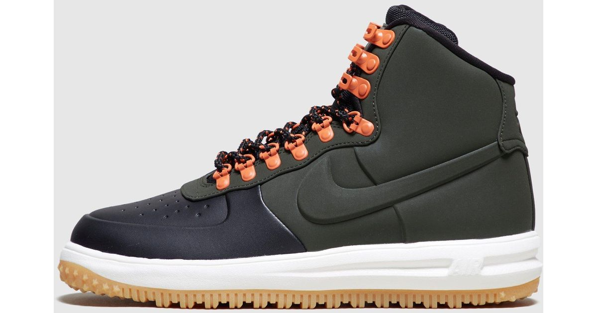 best sneakers 15aba ea337 Lyst - Nike Air Force 1 Mid Duck Boot in Black for Men