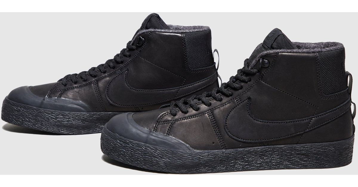 lowest price df984 19824 Nike - Black Blazer Mid Bota for Men - Lyst