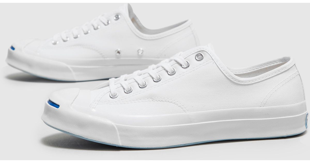 f3d57bfbbe7d6c Lyst - Converse Jack Purcell Signature Ox in White for Men