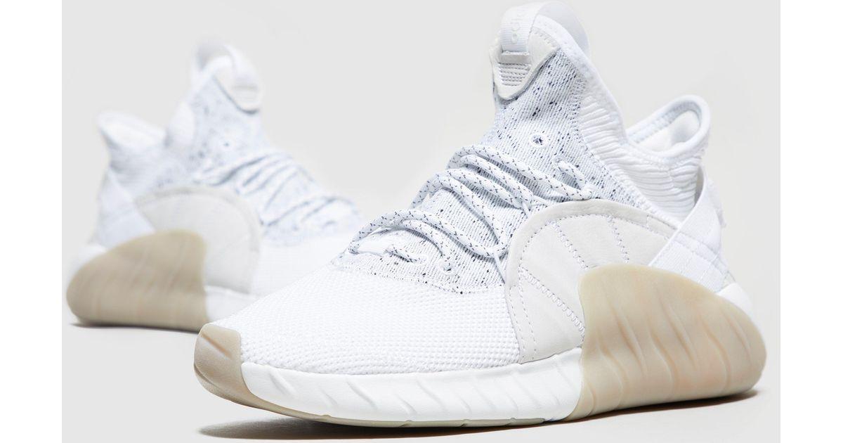 993b32eb9d1 Lyst - adidas Originals Tubular Rise in White