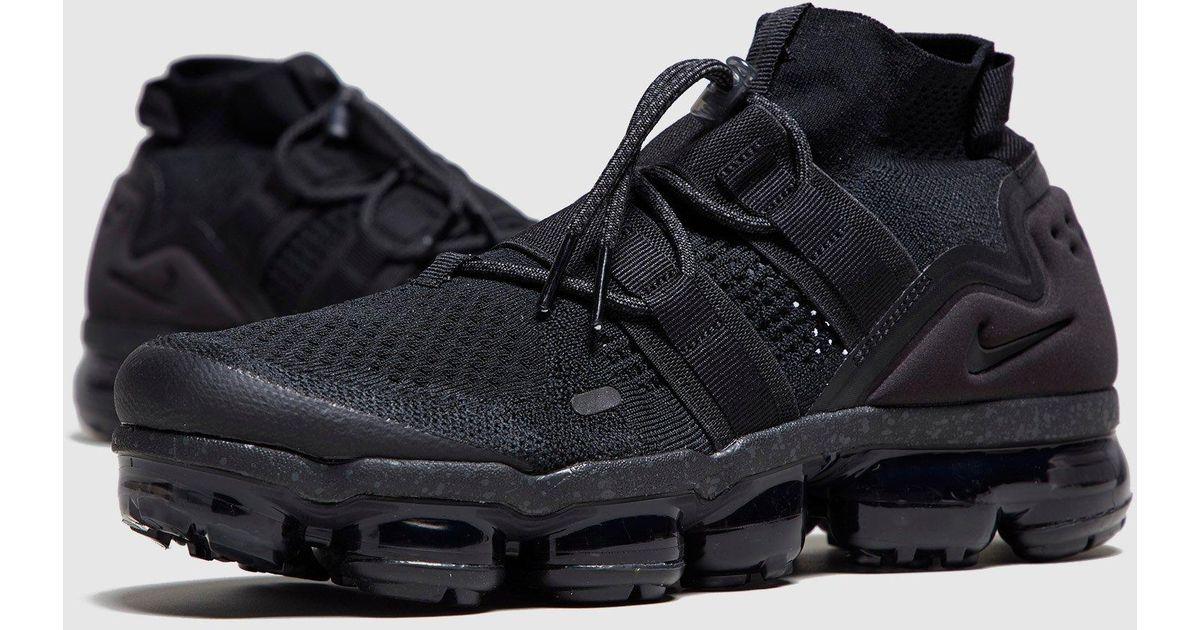 sports shoes 59e1c 25f32 Nike - Black Vapormax Flyknit Utility for Men - Lyst