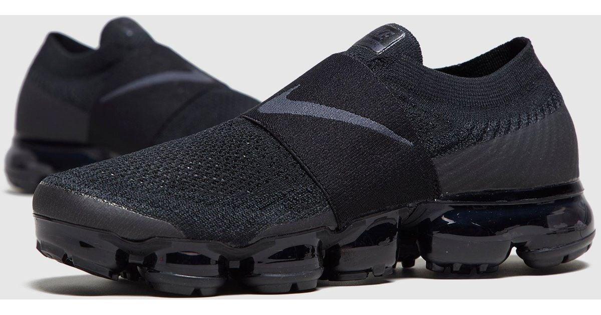 86b38ddf640 Nike Air Vapormax Flyknit Moc Women s in Black - Lyst